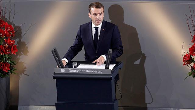 """Macron invoca un renacimiento de Europa para prevenir el """"caos"""" global"""
