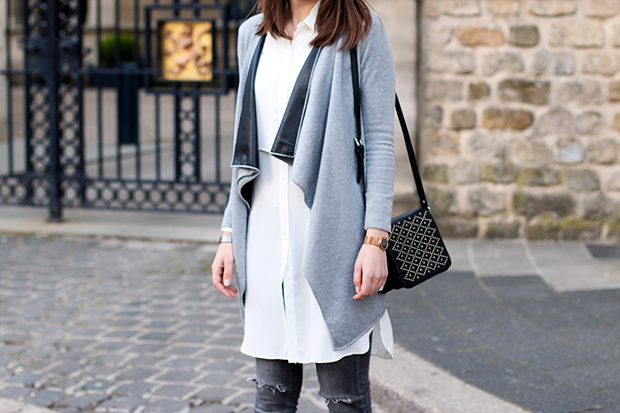 stylish grey and white outfits