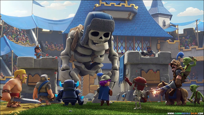 Novo Comercial: Esqueleto Gigante - 1