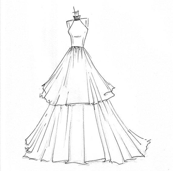 easy fashion design sketches - photo #8
