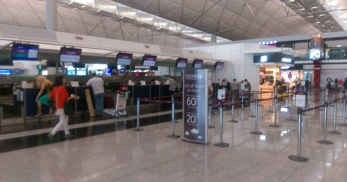 [QR] QATAR AIRWAY: QR817 HKG-DOH 香港Qantas貴賓室接卡達航空中轉杜哈機場
