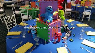 Sesame Street theme decoration