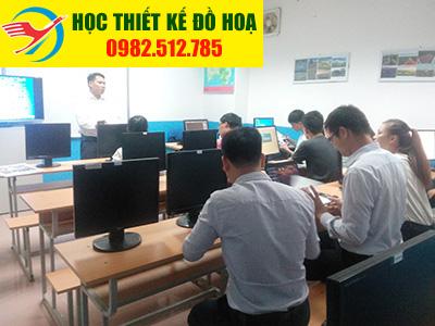 Lớp học thiết kế đồ họa tại Thanh Xuân-Hà Nội