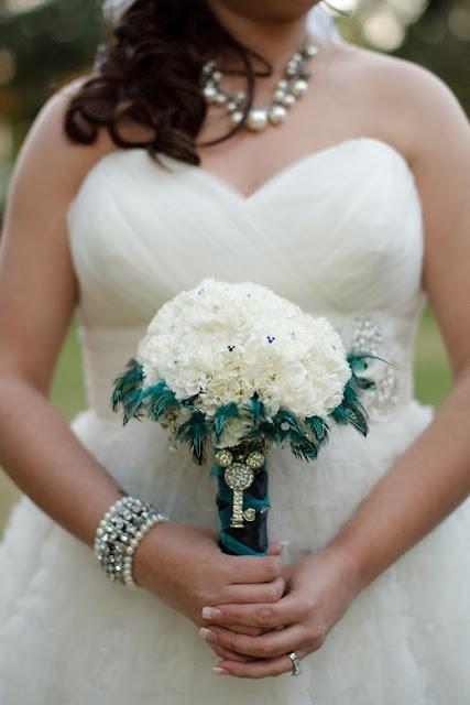 At Home Disney Wedding - Mickey Bouquet