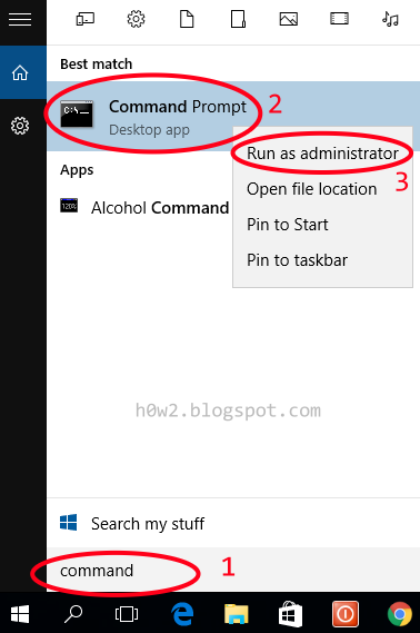 How to Run Command line as Administrator in Windows 10 - Computer