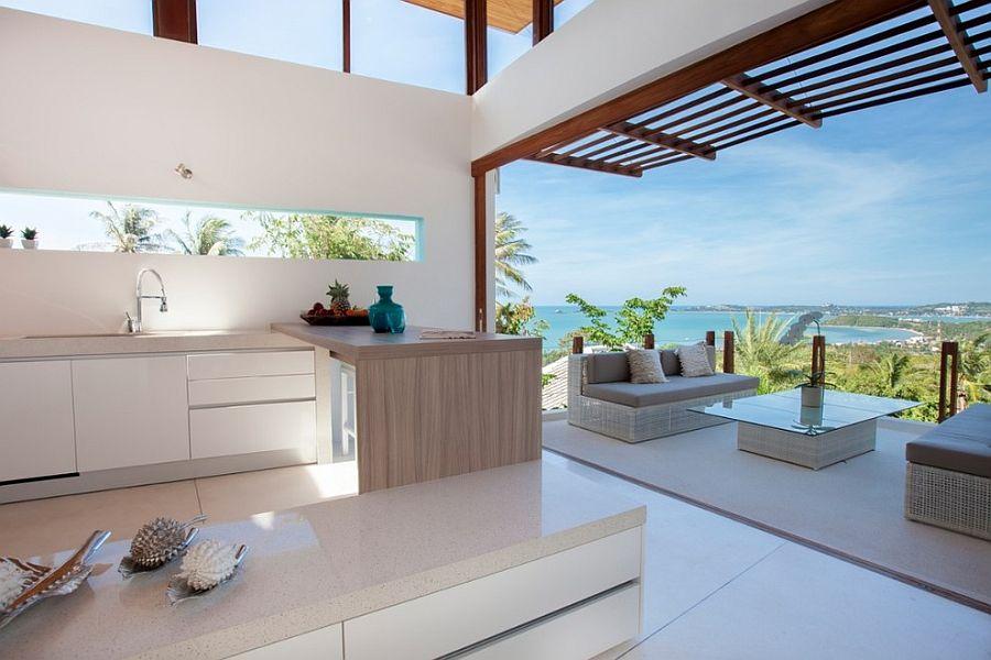 Decorando el hogar 13 cocinas con vista al mar for Vistas de cocinas