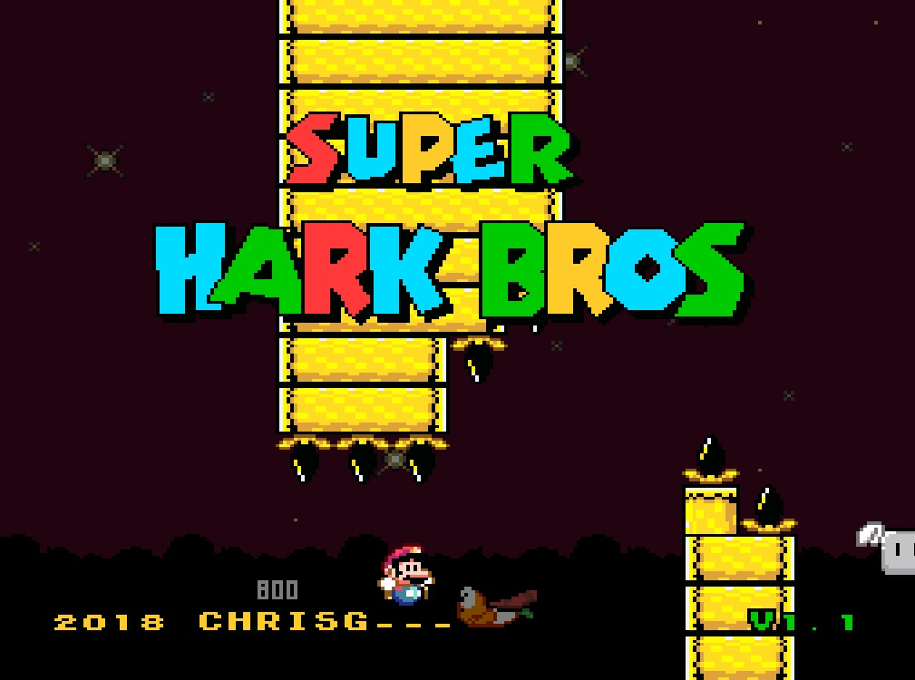 Download Rom Hack - Super Hark Bros [SNES]