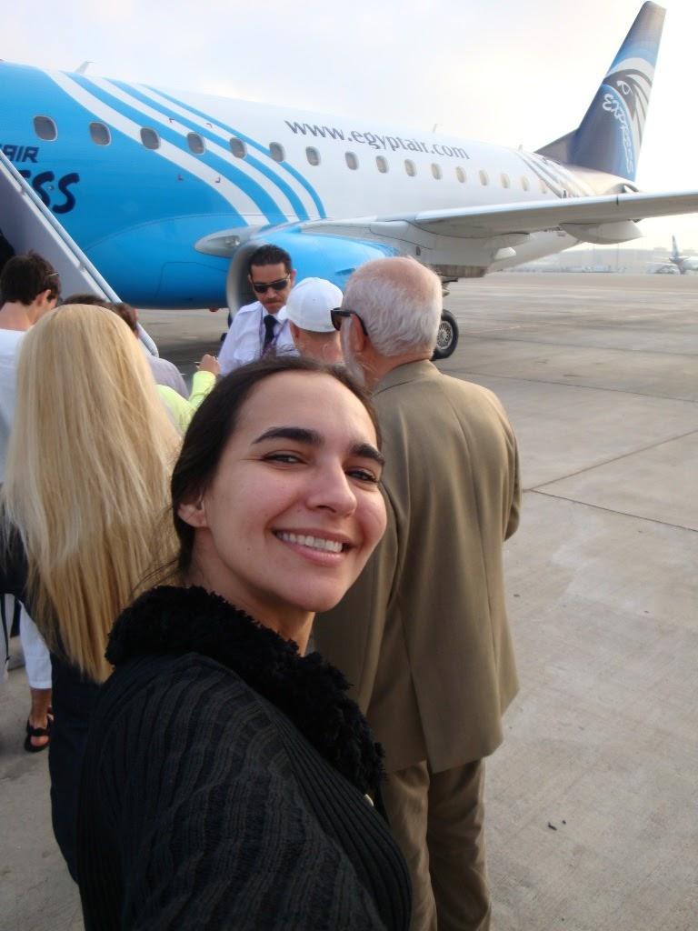 Como é viajar de Egypt Air