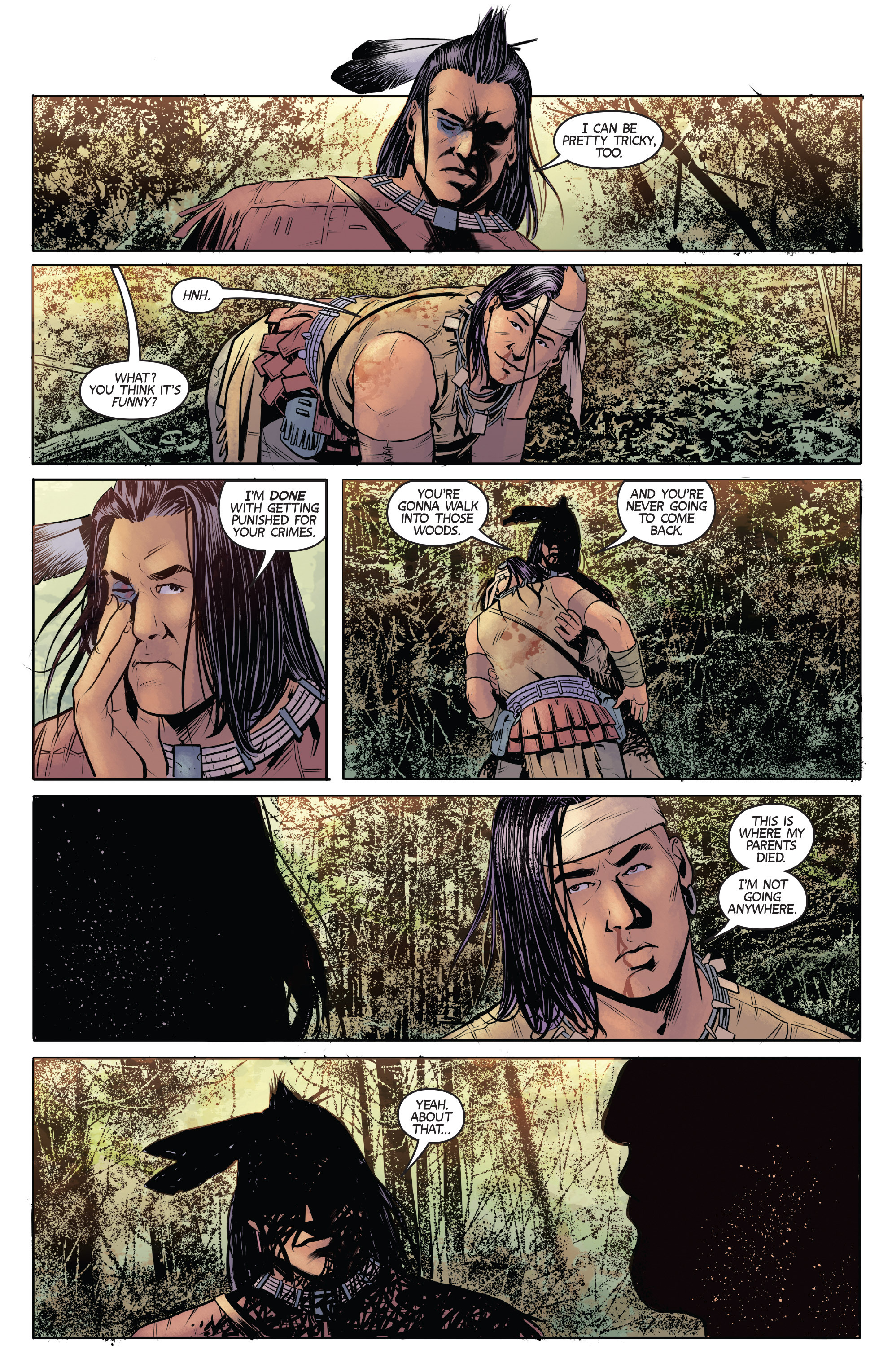 Read online Turok: Dinosaur Hunter (2014) comic -  Issue # _TPB 1 - 16