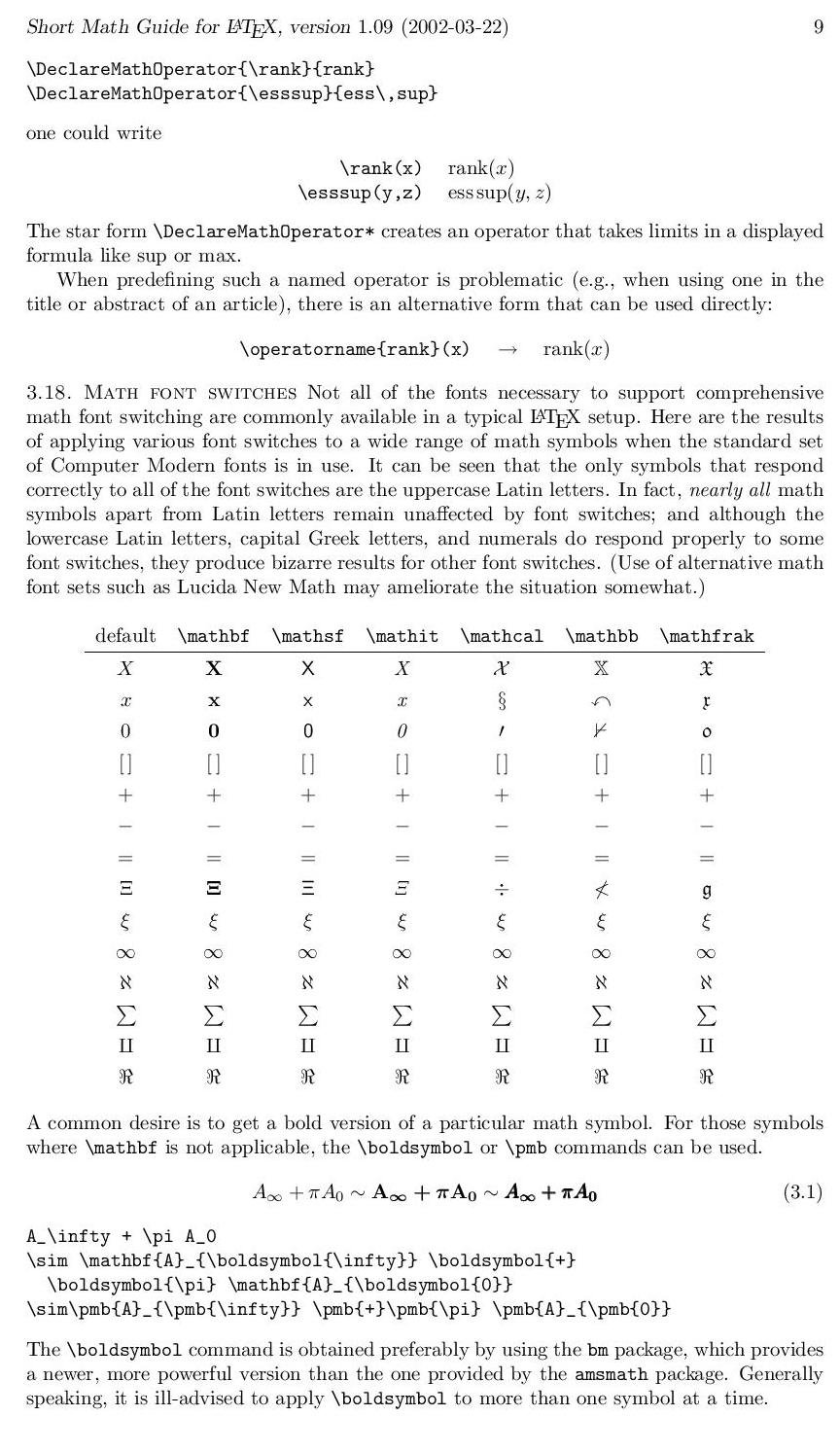 Computer inquisitive latex part 1 some mathematical symbols please feel free to share document which contain more symbols related to mathematics biocorpaavc