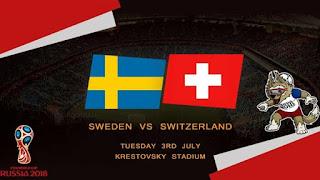 مشاهدة مباراة السويد وسويسرا بث مباشر اليوم 3-7-2018 كأس العالم