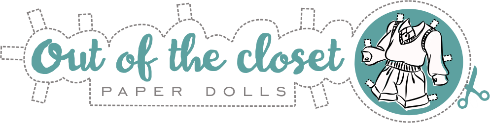 Out of the closet paper dolls