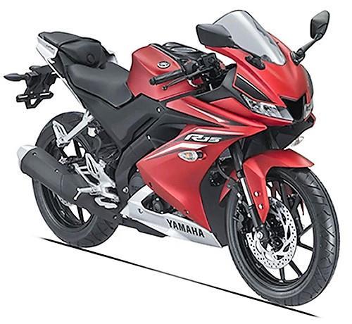New 2017 Yamaha R15 V3.0 Red pics
