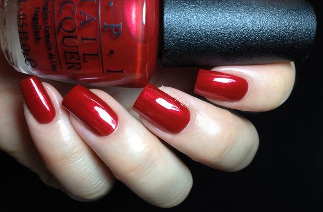 Opi Danke Shiny Red