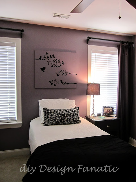 lucent purple, bedroom makeover