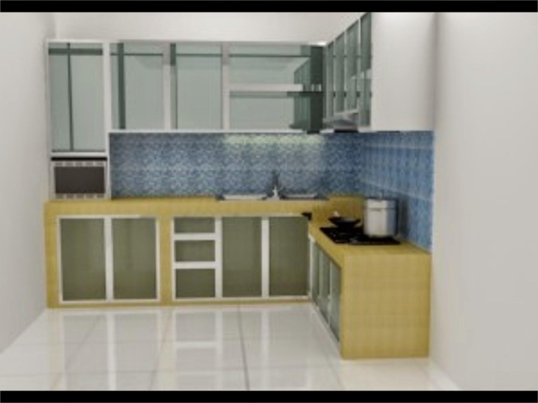 38 Konsep Kitchen Set Aluminium