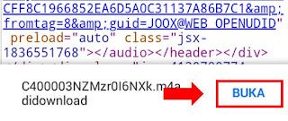 tutorial cara download lagu di joox 8