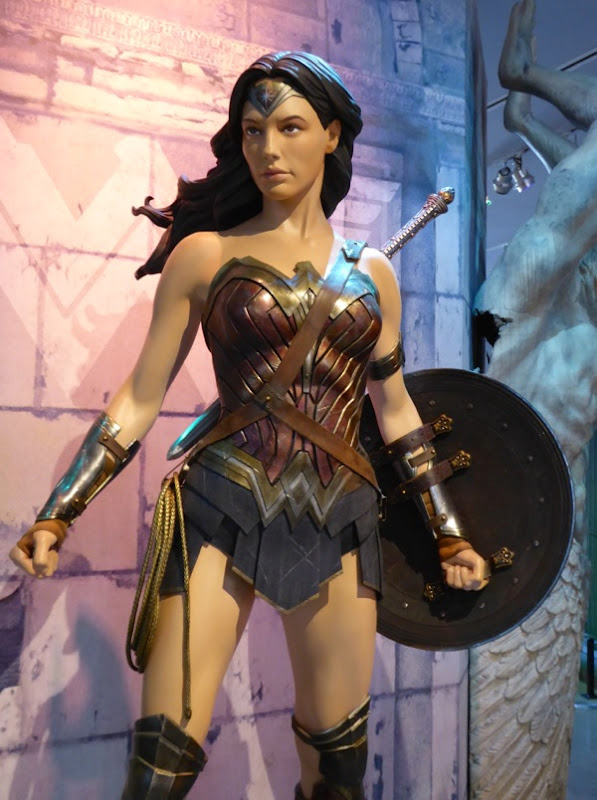 Wonder Woman film costume Batman v Superman