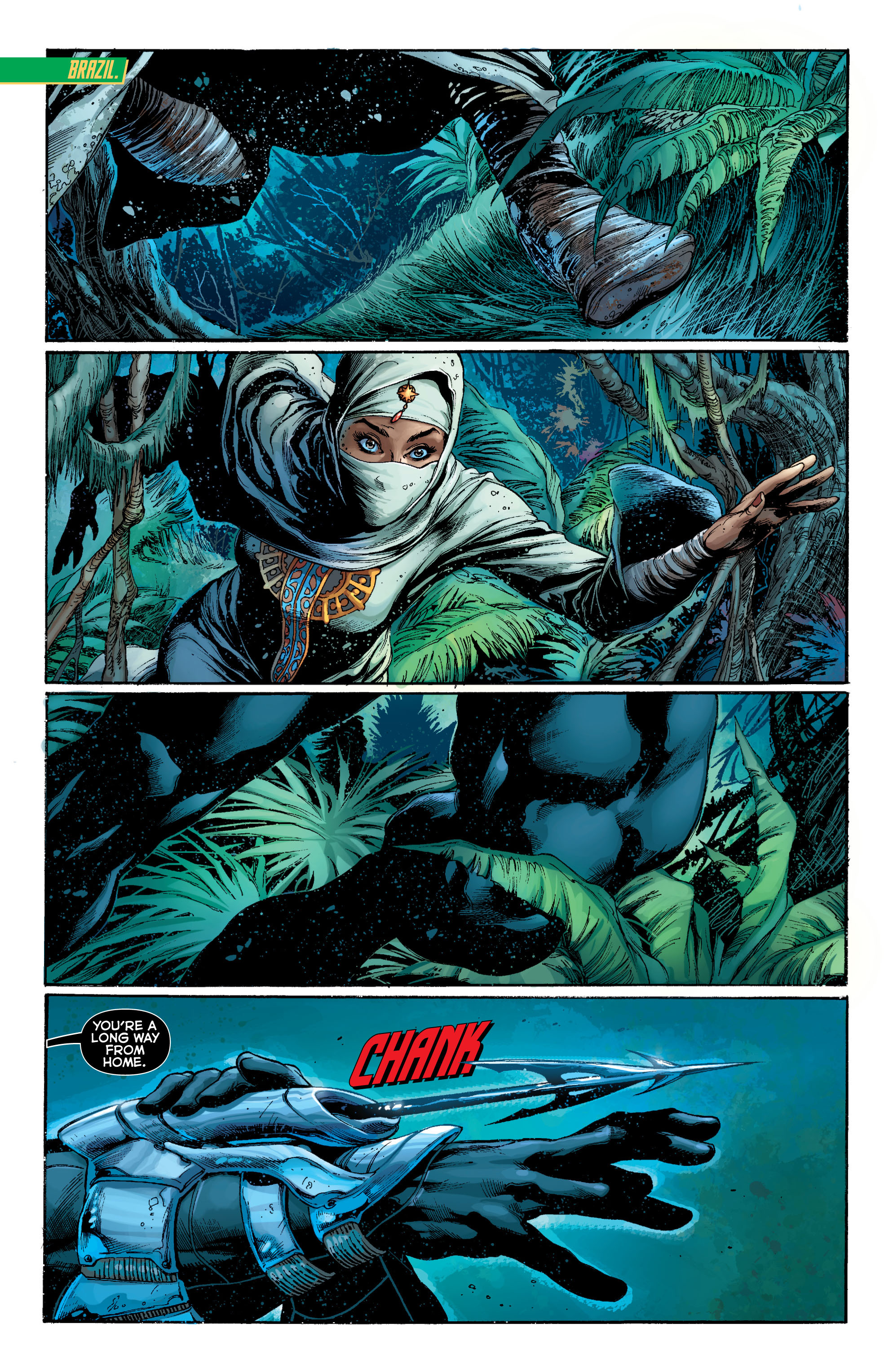 Read online Aquaman (2011) comic -  Issue #7 - 3