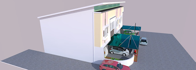Contoh Townhouse
