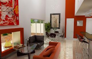desain warna ruang tamu 1