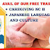Caregiving & Japanese Language and Culture by PSAA (Free Training 2019) - Enroll now!