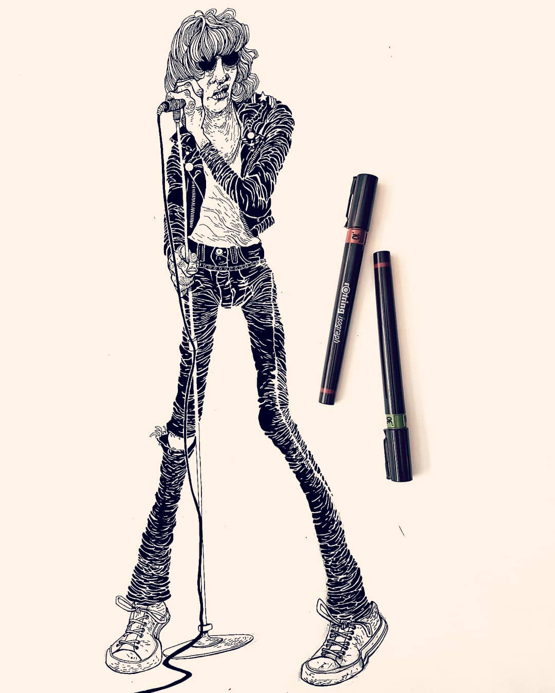 Joey Ramone Illustration