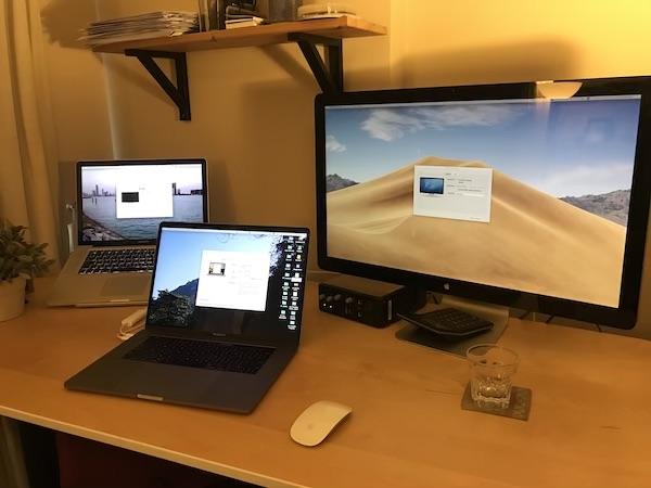 古いMacBook Pro(ノートパソコン)を外部モニターとして蘇らす
