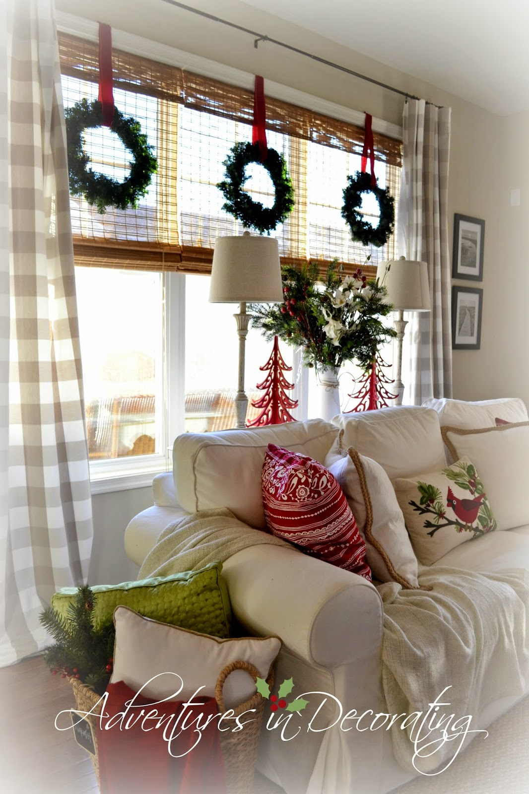 Decorating Great Room Living Area: Adventures In Decorating: Our 2014 Christmas Great Room