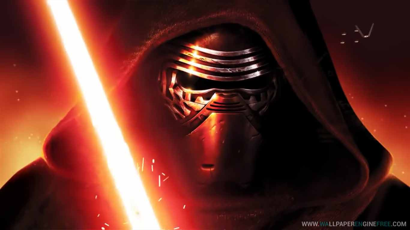 Star Wars The Force Awakens Kylo Ren Wallpaper Engine Full Download Wallpaper Engine Wallpapers Free