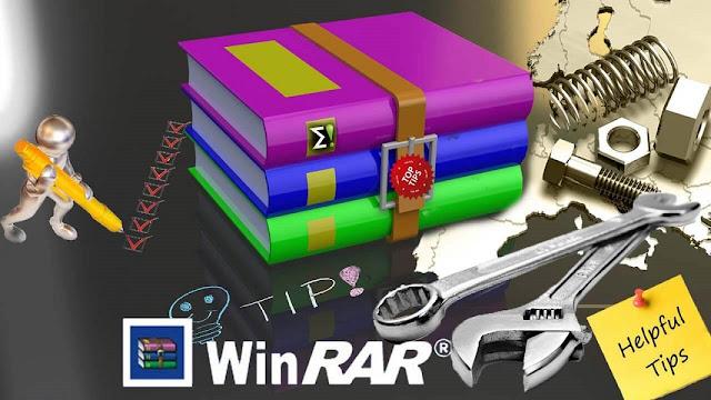 اليك 3 نصائح للحصول على اقصى استفادة من برنامج WinRAR