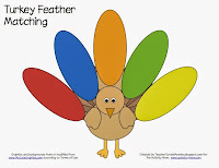 turkey feather matching