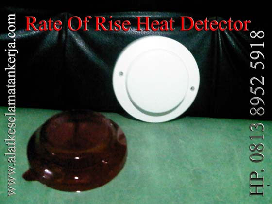 RATE OF RISE (ROR ) HEAT DETECTOR FIRE ALARM SYSTEM