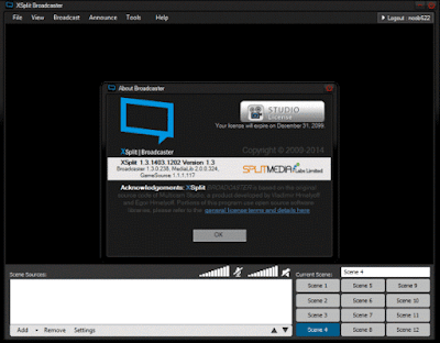 XSplit Broadcaster Computer Software