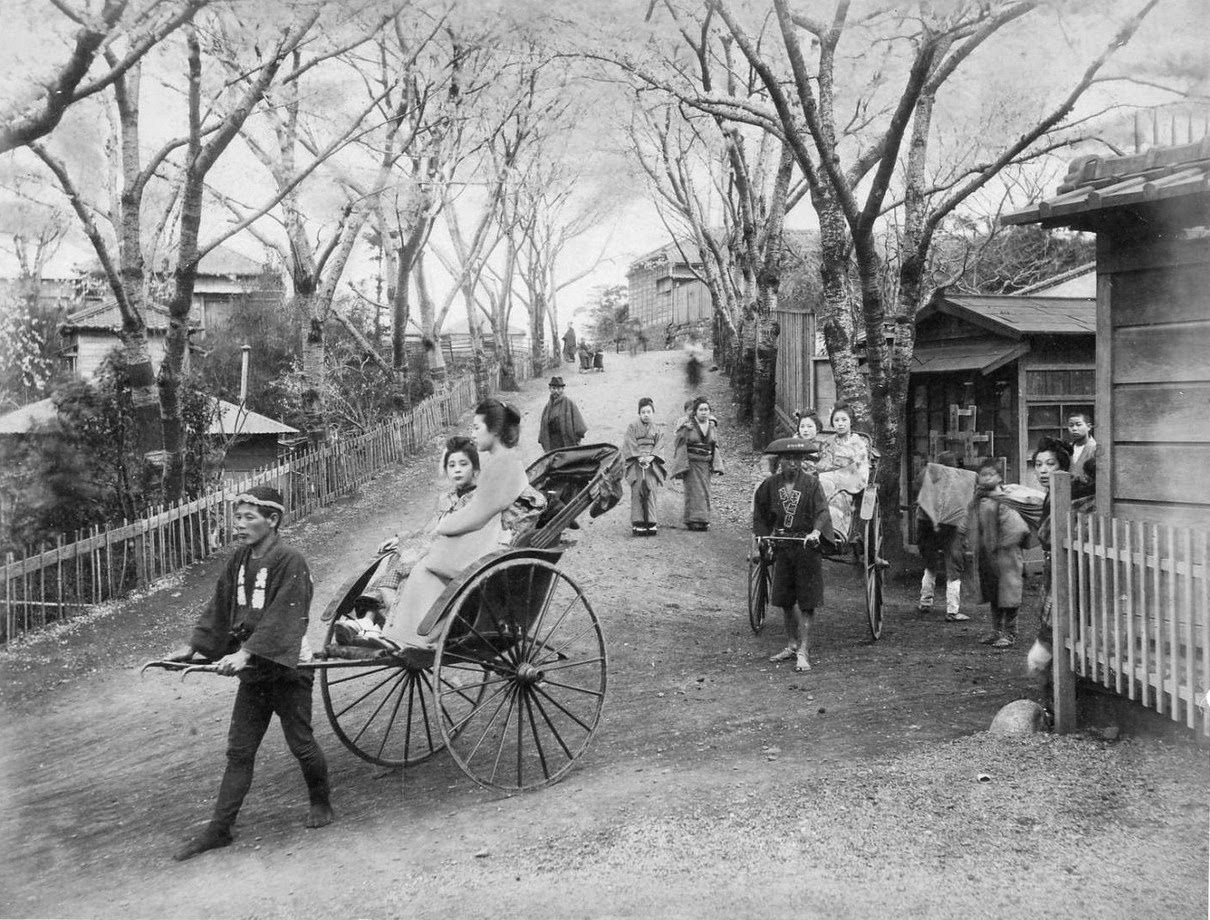 vintage photos of life in japan from the 1880s