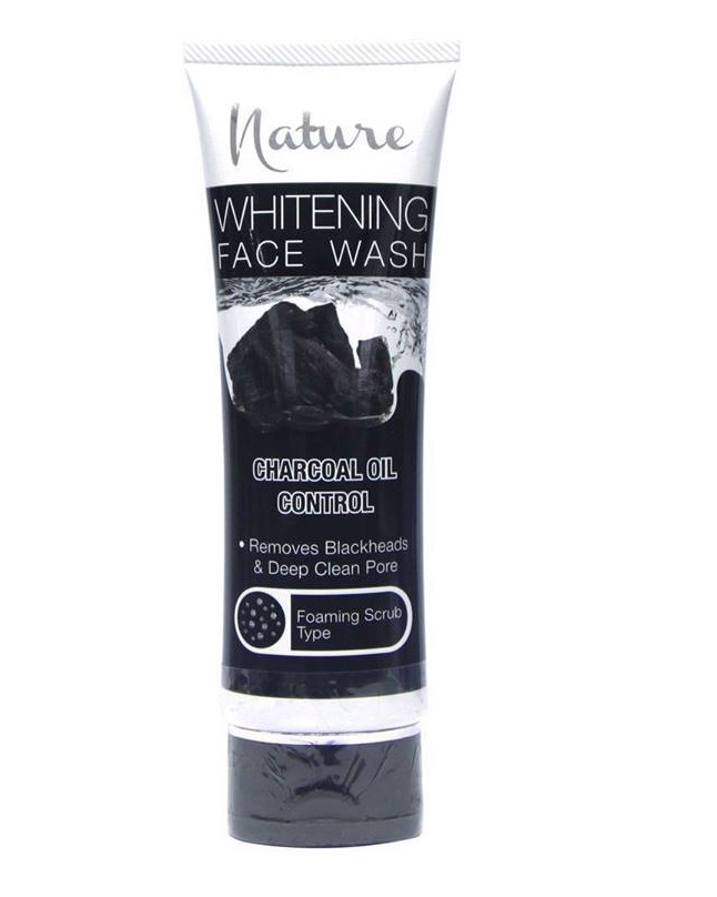 Nature Charcoal Oil Control Face Wash 100 ml
