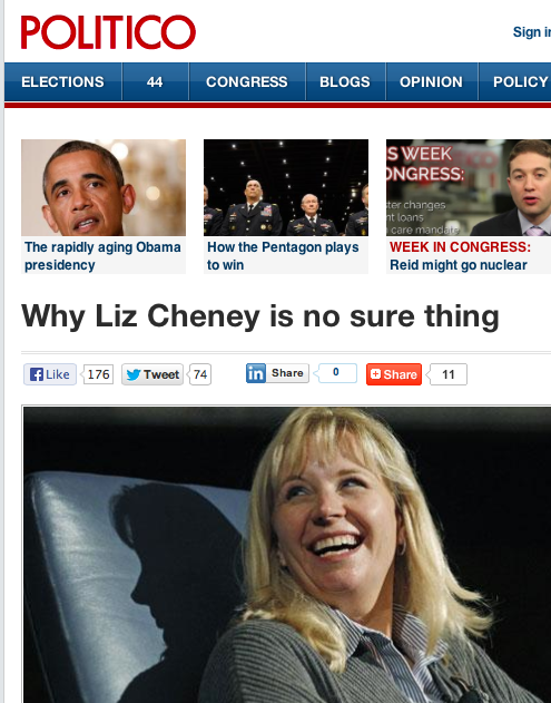 Liz Cheney Might NOT Be a Sure Thing... Could She Be a ...