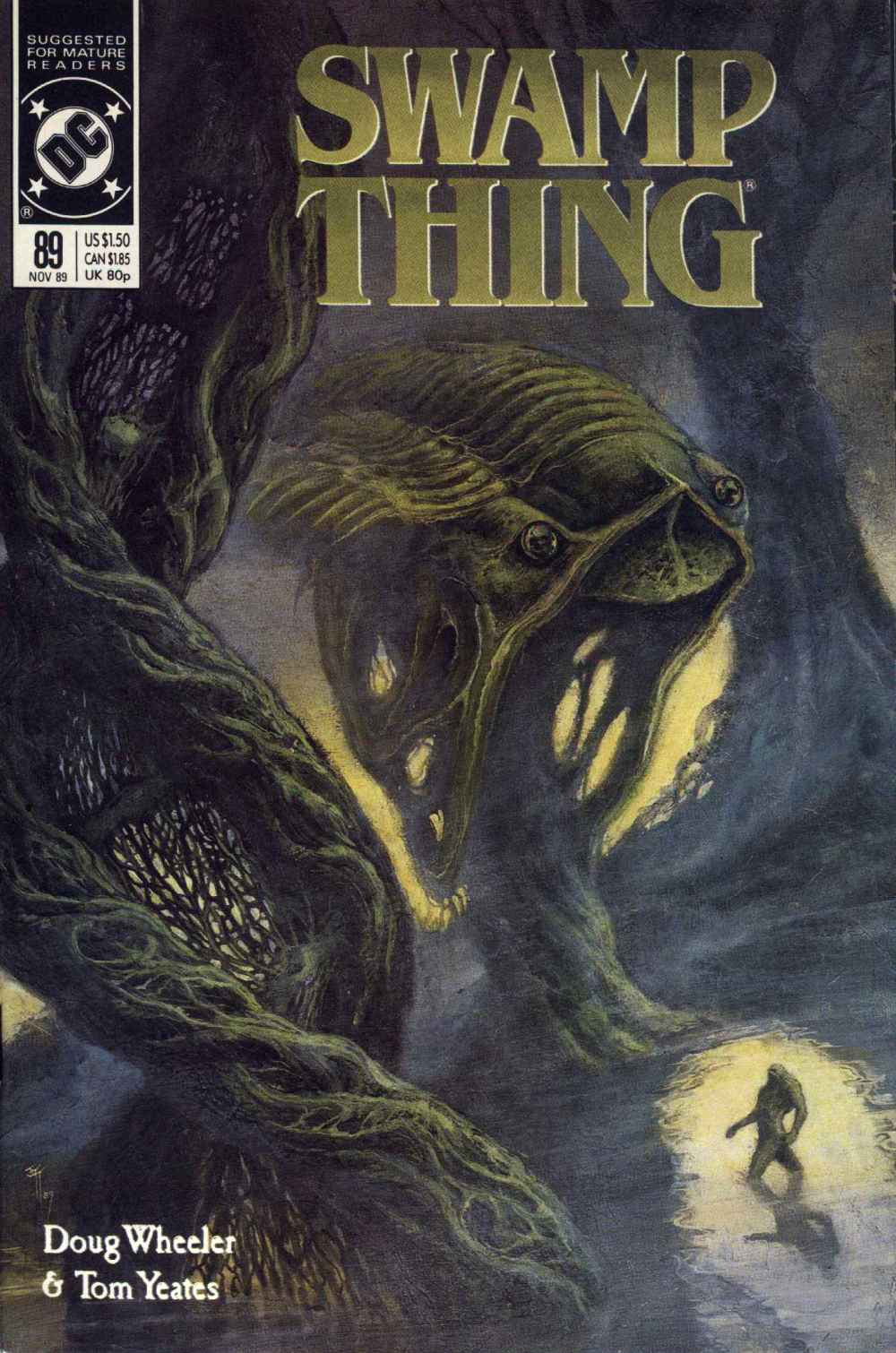 Swamp Thing (1982) Issue #89 #97 - English 1
