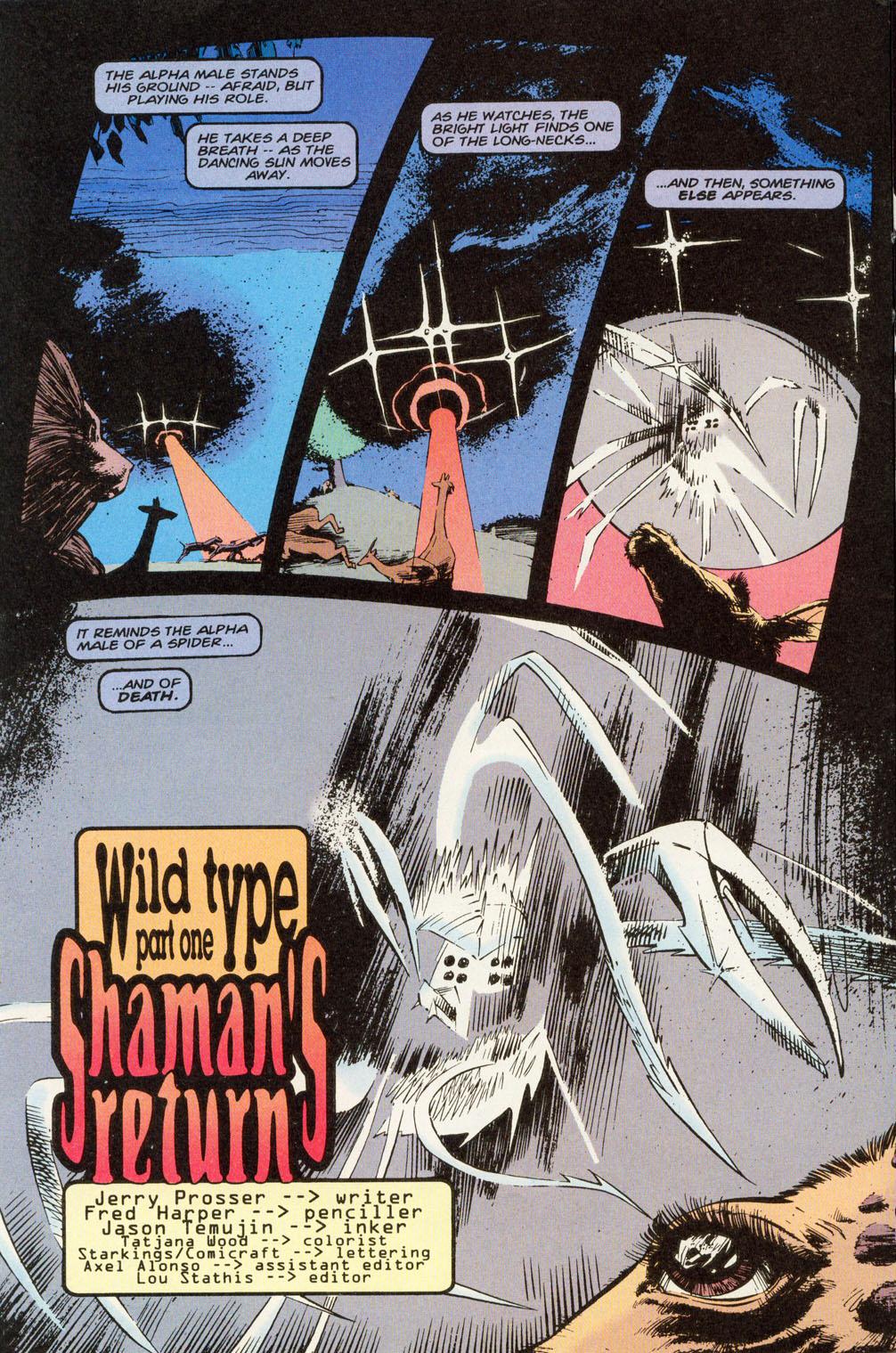Read online Animal Man (1988) comic -  Issue #81 - 3