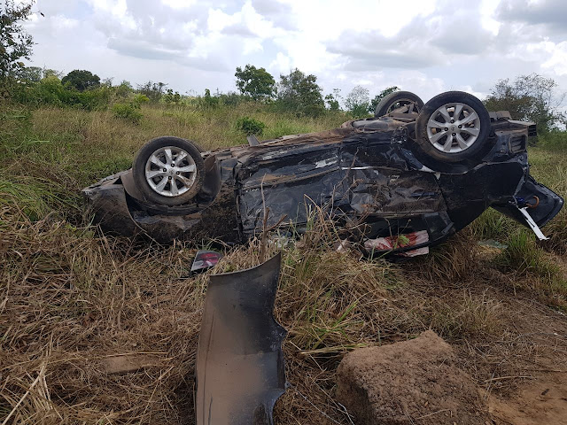 Colisão entre veículos deixa sete pessoas feridas em Miranda do Norte