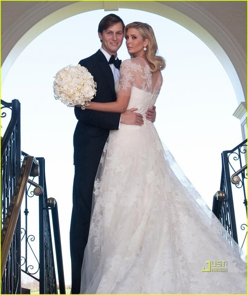 ivanka trump and jared kushner wedding photos