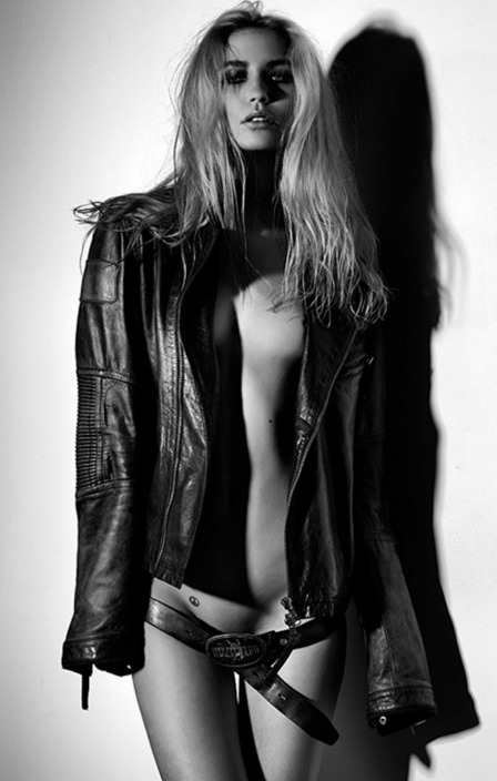 Leather Jacket Girl