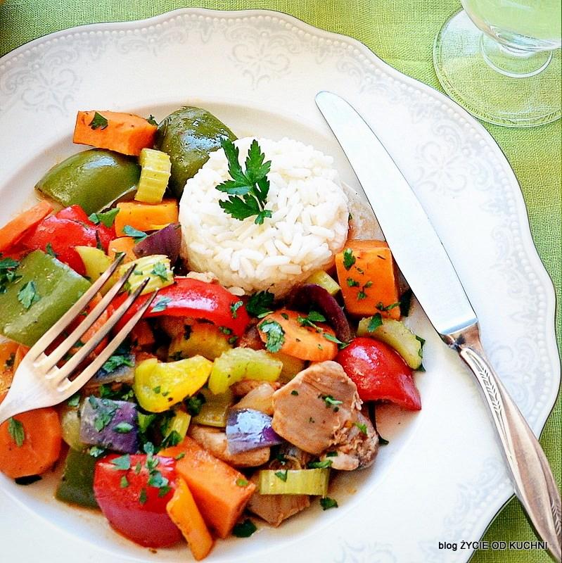 udziec z kurczaka, obiad fit, pazdziernik sezonowe owoce pazdziernik sezonowe warzywa, sezonowa kuchnia, pazdziernik, zycie od kuchni