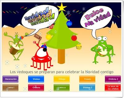 http://www.vedoque.com/juegos/navidad.swf?idioma=es