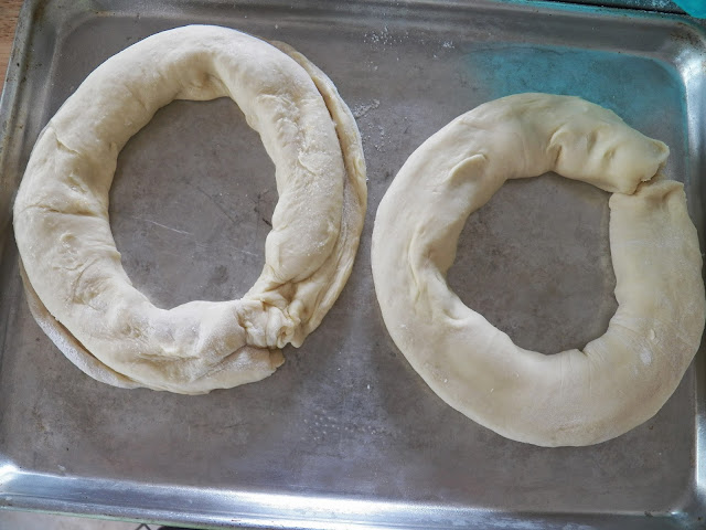 Kringle before baking