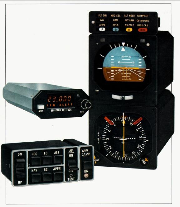 ARQUIVOS AERONÁUTICOS: Manual Bendix King KFC-250