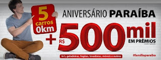 Promoção Aniversário Armazém Paraíba 2017