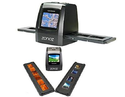 Zonoz Photo Film Scanner - Portable FS-ONE Scanning Machine - 35mm Negative-Film and Slide Converter