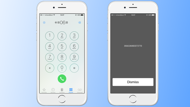 how to change imei number on iphone 7