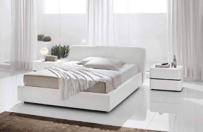 White modern bedroom furniture